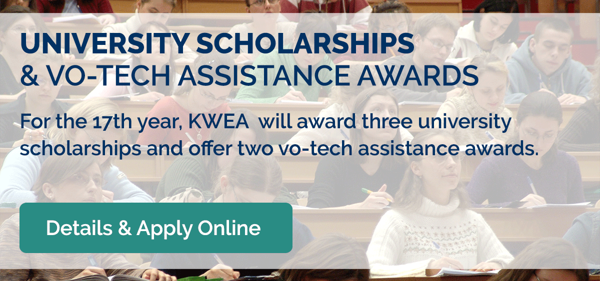 KWEA Scholarships & Vo-tech Assistance